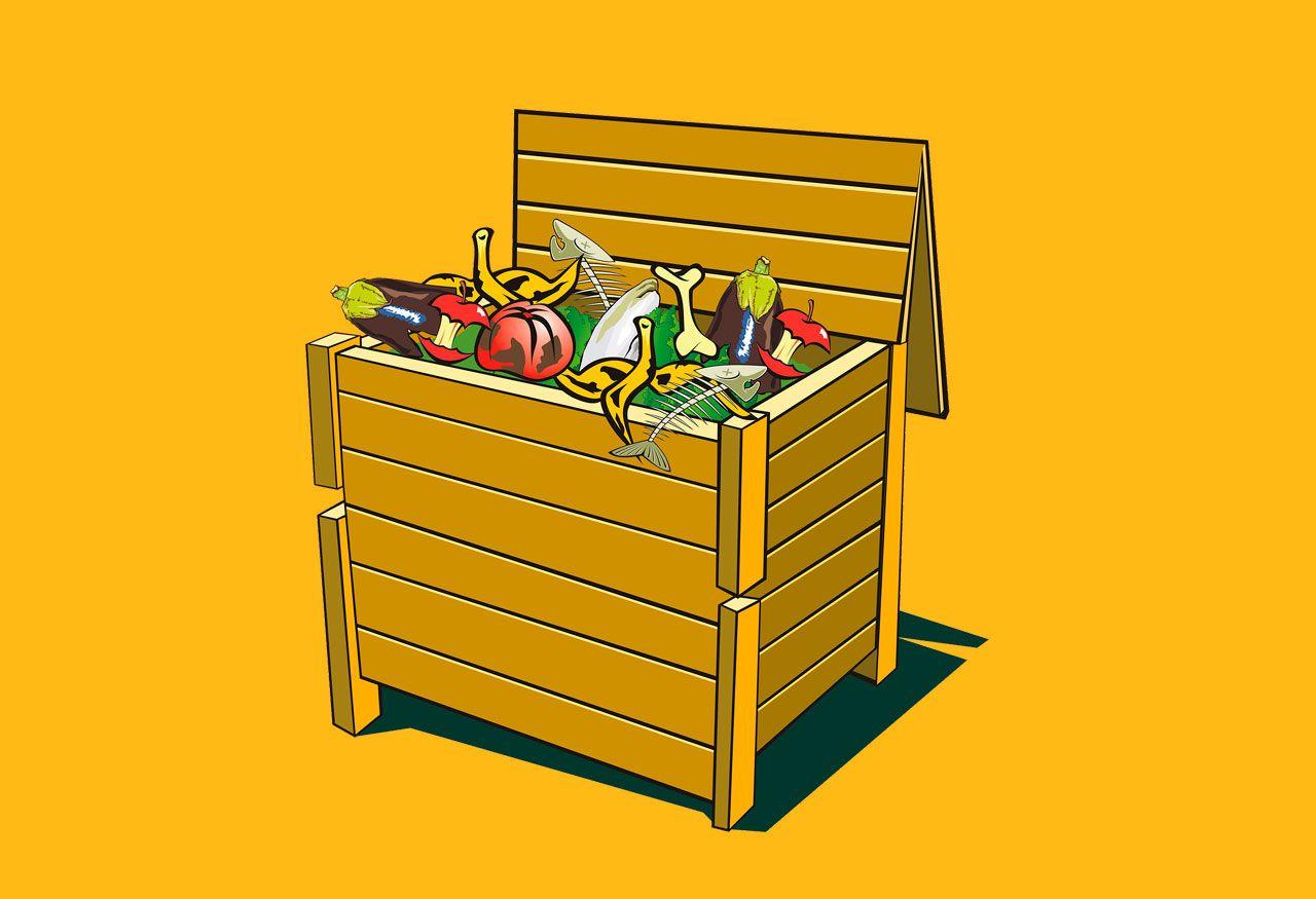 Consejos Hogares Verdes: el contenedor marrón
